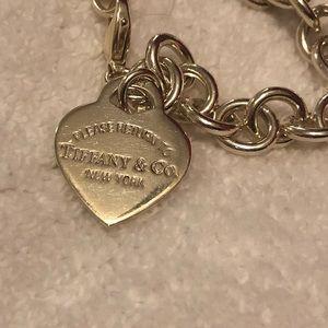 Tiffany & Co Return to Tiffany heart tag bracelet